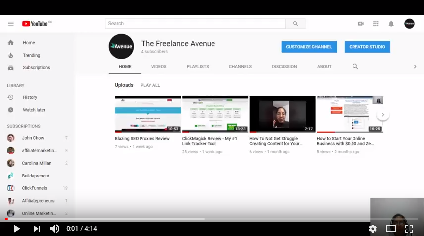 Increase your YouTube Channel Subscribers Fast with a simple trick