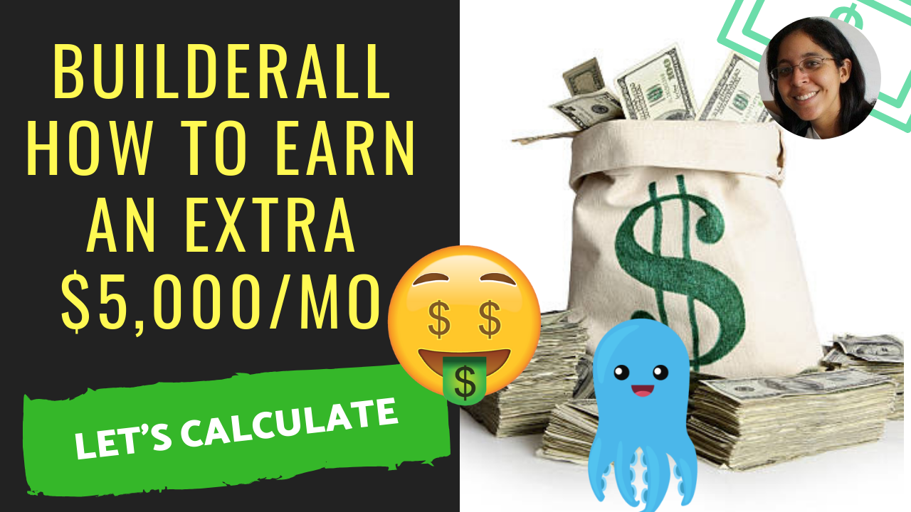 Builderall Business: How To Get to $5,000 RESIDUAL Per Month
