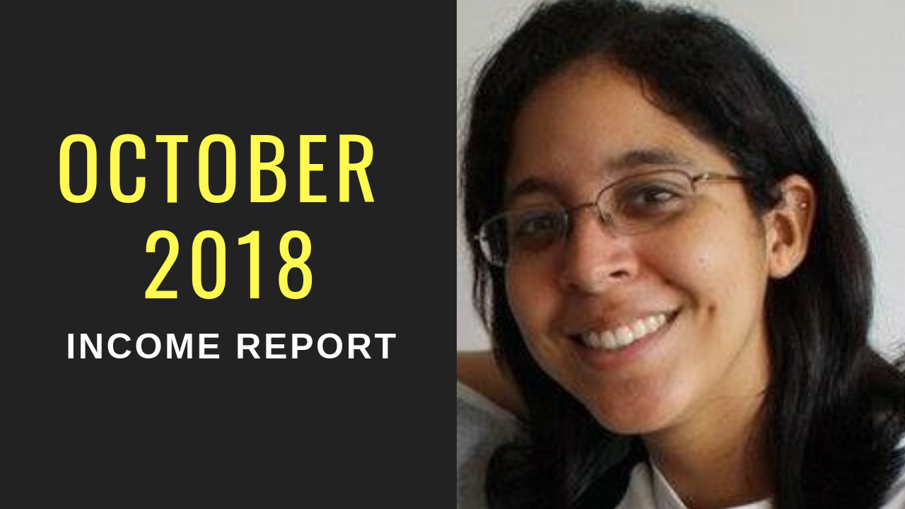 October 2018 – Income Report